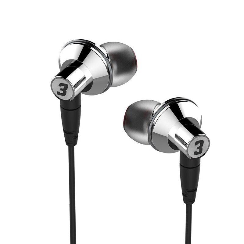 DUNU TITAN 3 HiFi Intérieure-oreille Écouteurs Membrane En Titane Dynamique Haute Fidélité Écouteurs avec MMCX connecteur TITAN3 TITAN- 3
