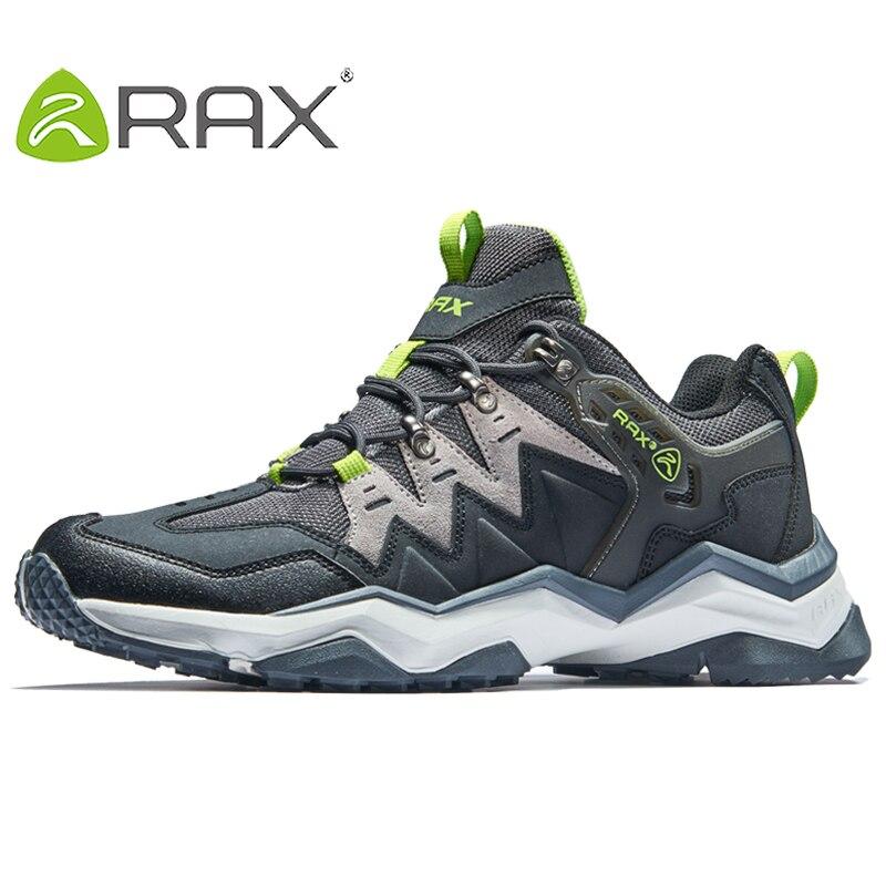 RAX 2017 Mens Waterproof Hiking Shoes Men Outdoor Trekking Walking Shoes Outdoor Sports Sneakers Men Large Size Hiking Boots Men
