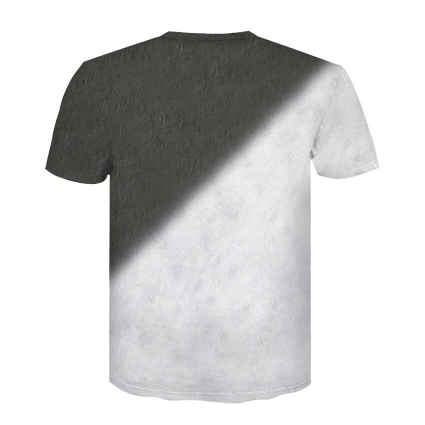 D-163-凯诚T恤短袖模板-后