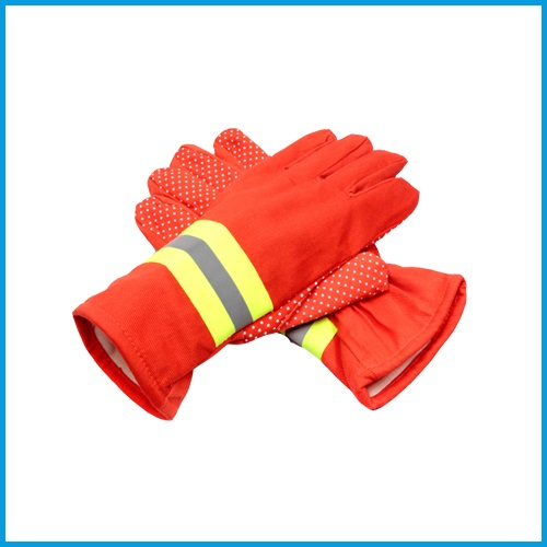 Fire gloves 97 flame retardant fire Gloves Orange gloves protective gloves for firefighters fire rescue fire fighting equipment rescue gloves hand protective gloves