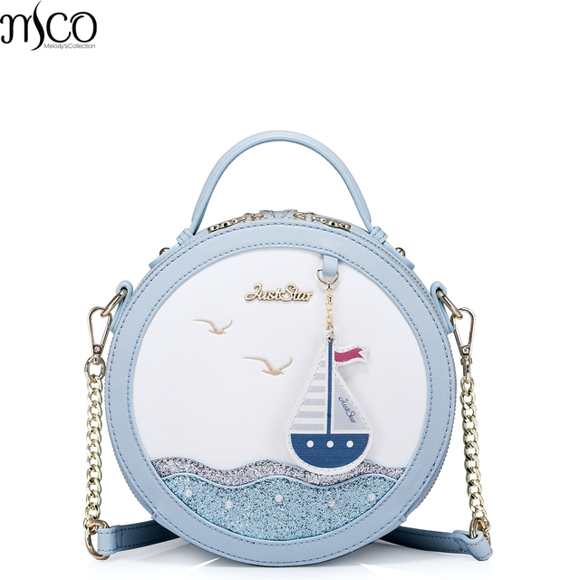 2017 Luxury Sequin Beach Handbag For Teenager Girls Famous Brands Tote Embroidered Leather Crossbody Bag Women Shoulder Bags