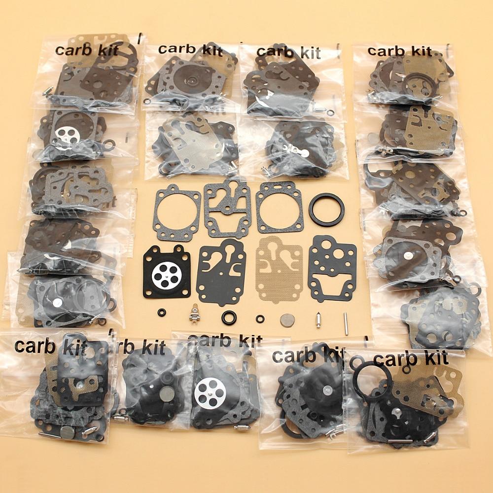 Tools : 20Pcs lot Carburetor Carb Diaphragm Rebuild Repair Kit For Honda GX35 GX25 GX25N GX25NT GX25T Gas Motor Strimmer Brushcutters