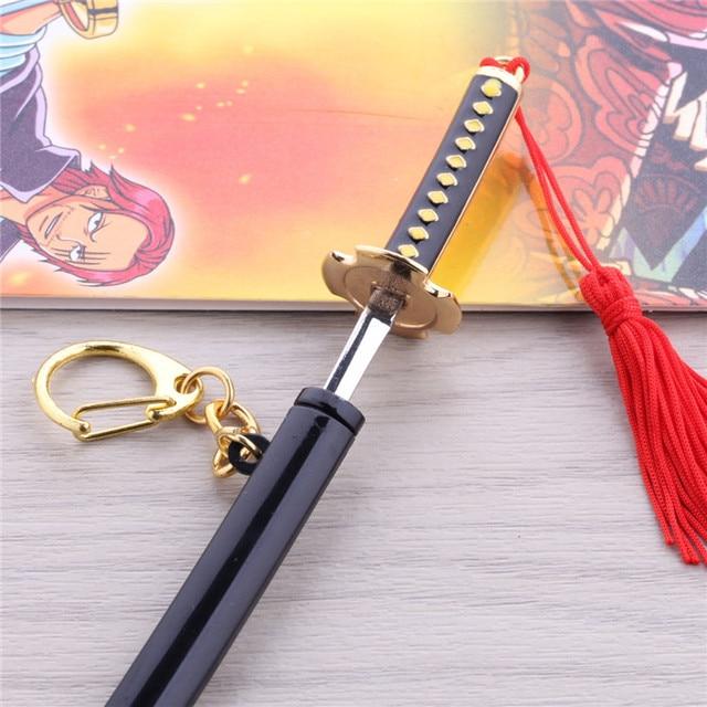 One Piece Roronoa Zoro Swords Weapon Keychains