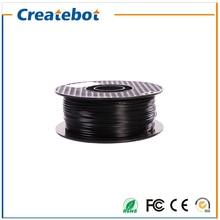 3d printer filament ABS Filament 1.75mm/3mm 1kg Black color Consumables Material Createbot/MakerBot/RepRap 3D Filament