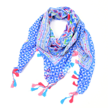 plaid kerchief scarf women winter rose floral square Flower necklace bandana tartan echarpes foulards femme bufandas