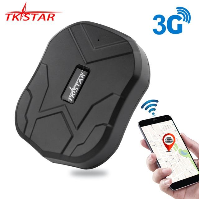 3G GPS Carro Perseguidor 60 Dias de Espera Tkstar TK905 2G Localizador GPS de Rastreamento de Veículos GPS À Prova D' Água Ímã Voz monitor Free Web APP