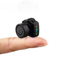 Mini Câmera Sem Fio 720 P Video Audio Recorder Y2000 Nanny Camcorder DV DVR Pequeno Segredo De Segurança Do Carro Esporte Micro Cam fone de ouvido com Microfone