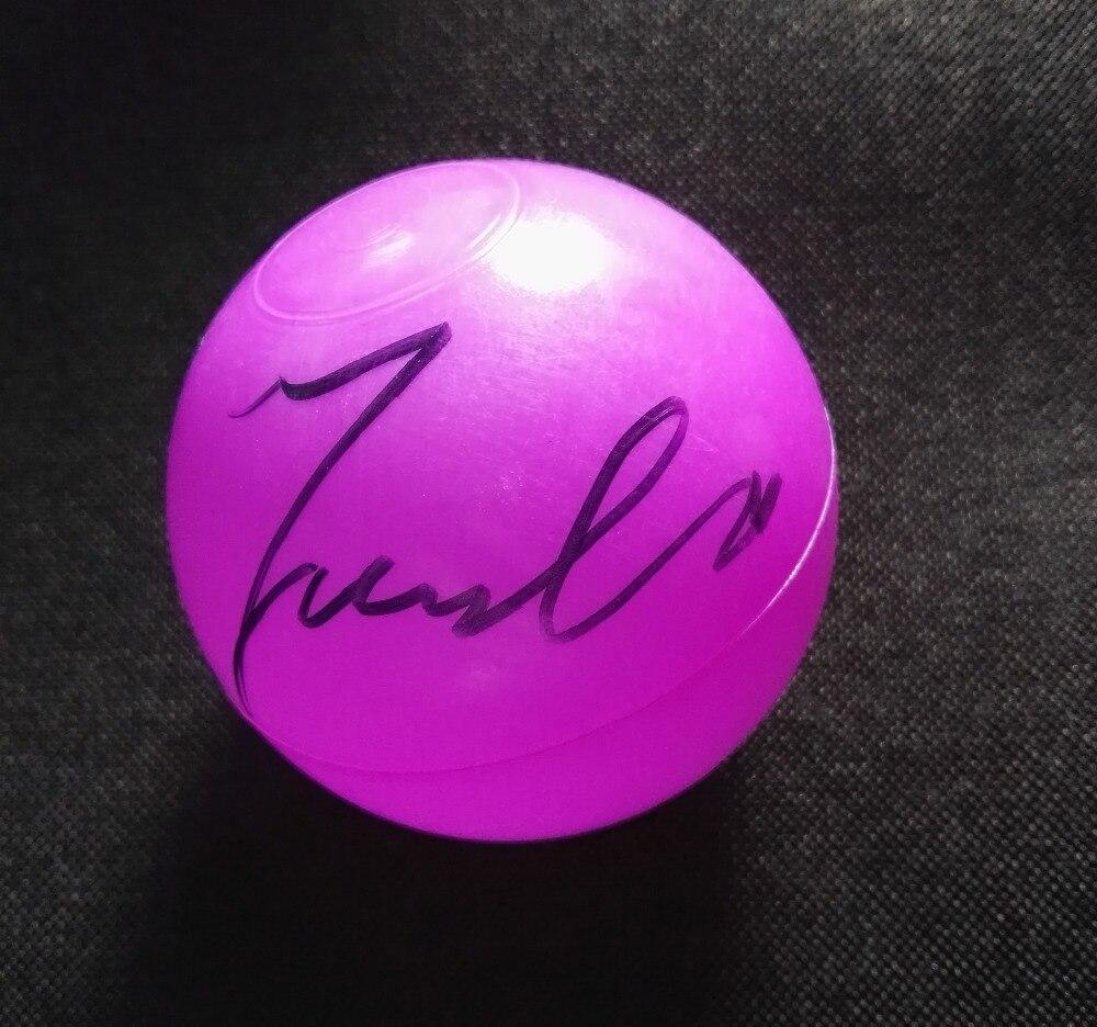 Signée à la main NCT RÊVE JAEMIN autographiée concert balle K-POP 122018
