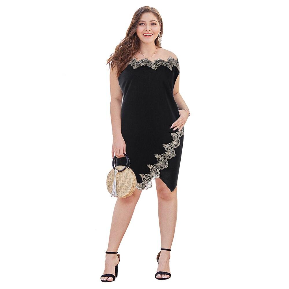 c66b5afa63 US $10.79 Lortalen Summer Women Dresses Plus Size 5XL Flower ...