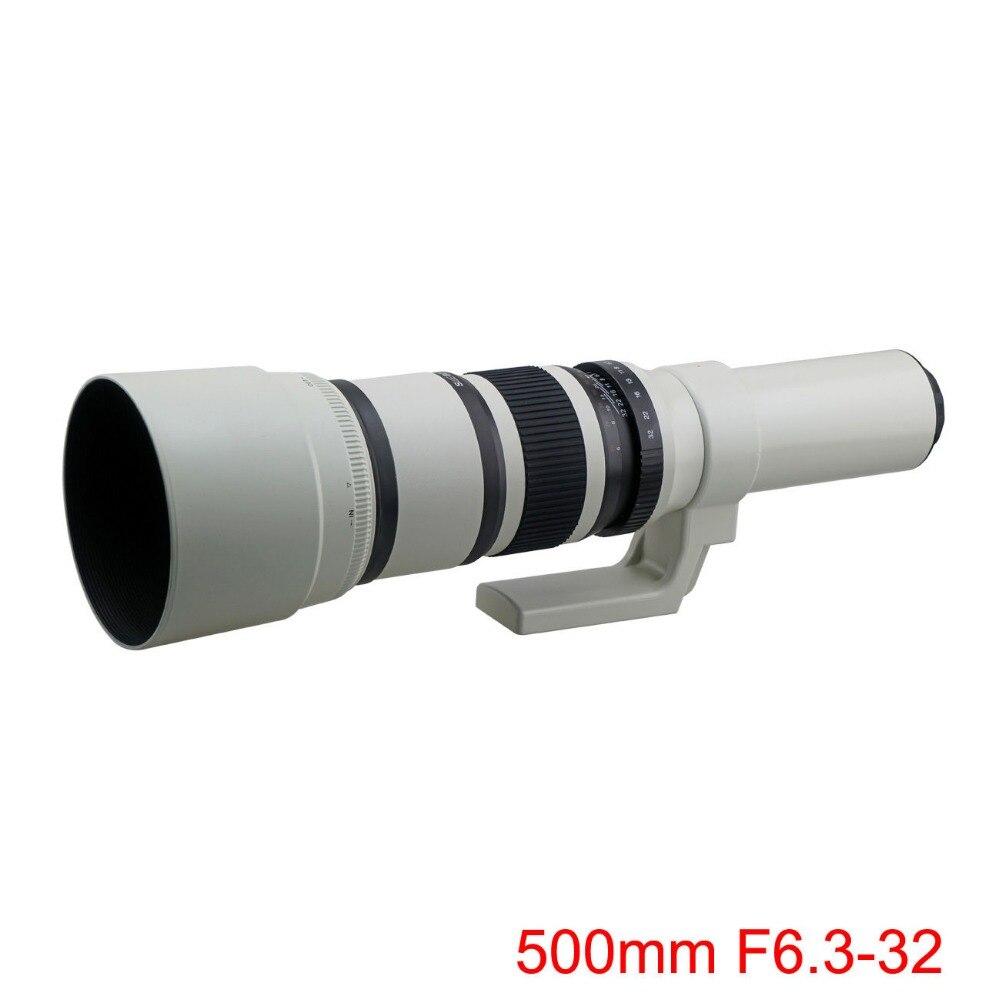 500 mm f / 6,3 telefoto fikseeritud esiklaas + tasuta T2 adapter - Kaamera ja foto - Foto 2