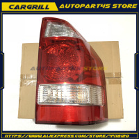Rear Tail Right Lights Red White For 2003 2006 Mitsubishi Montero Pajero Shogun