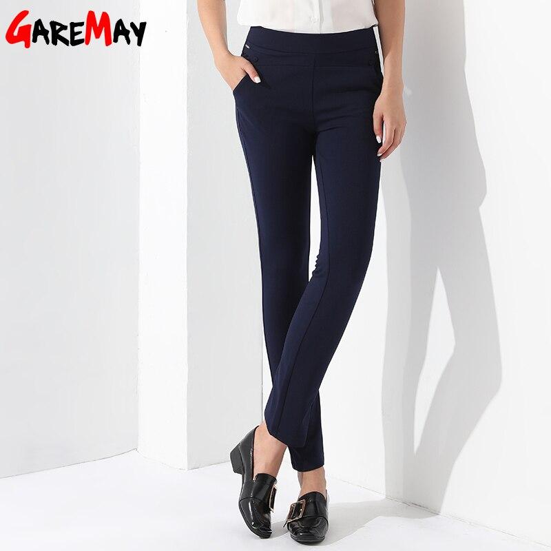 Slim Formal Straight Trousers