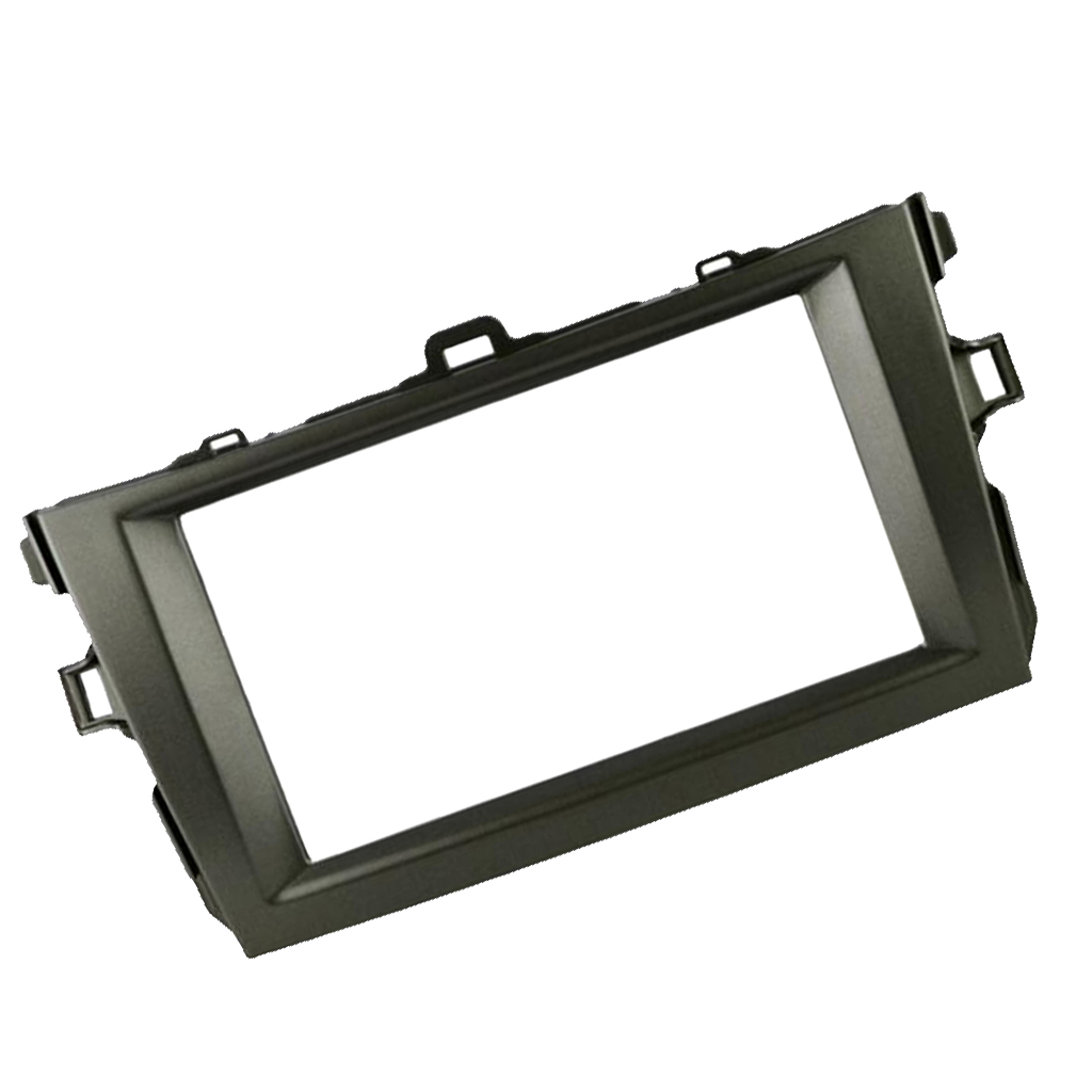 Car Dash Radio 2DIN Frame Fascia Panel Trim for Toyota Corolla 2008 - 2010