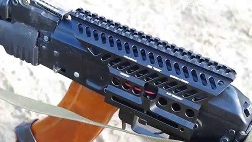 Aluminium Alloy CNC Machining Russian AK 47 74 Red Dot Scope Picatinny Side Mount Rail Base Adapter B-13 M3324
