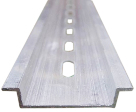 Алюминий 35 мм x 7,5 мм C45 DZ47 клеммные колодки для din-рейки аксессуары
