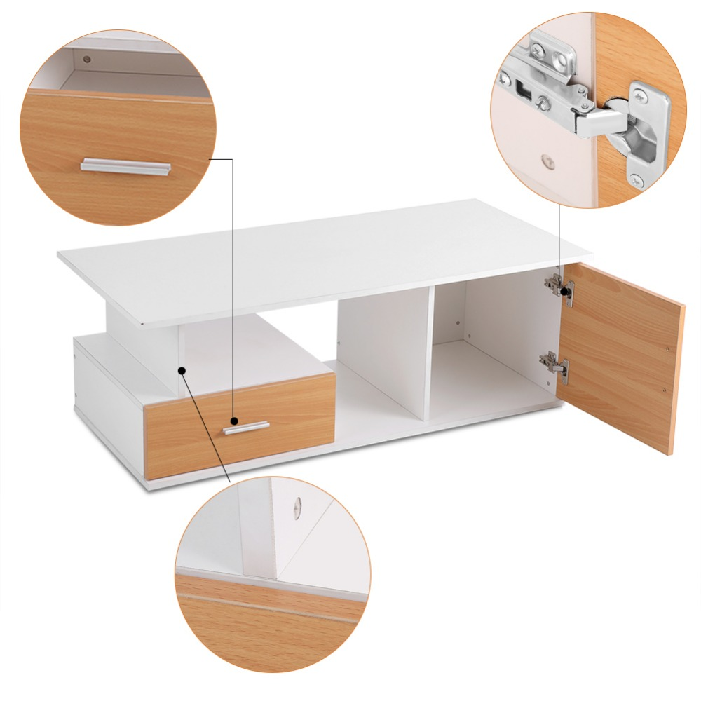 Home TV Cabinet Stand Living Room Entertainment Center With Drawer Storage  Bin Soporte Monitor Escritorio Madera Monitor Riser In TV Stands From  Furniture ...