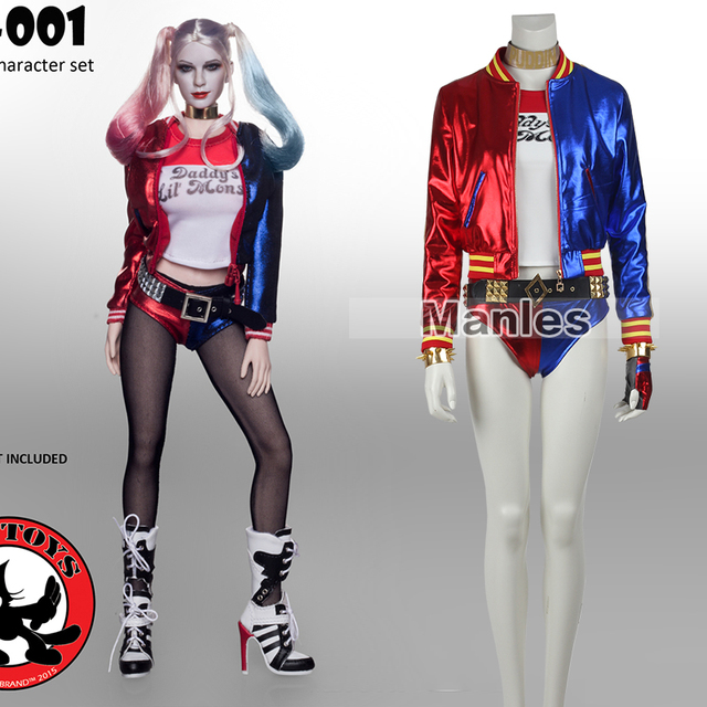 Batman Movie Harley Quinn Cosplay Costume Sexy Suit Women Coats Female Jacket Girls Adult Full Set  sc 1 st  AliExpress.com : harley quinn costumes for women  - Germanpascual.Com