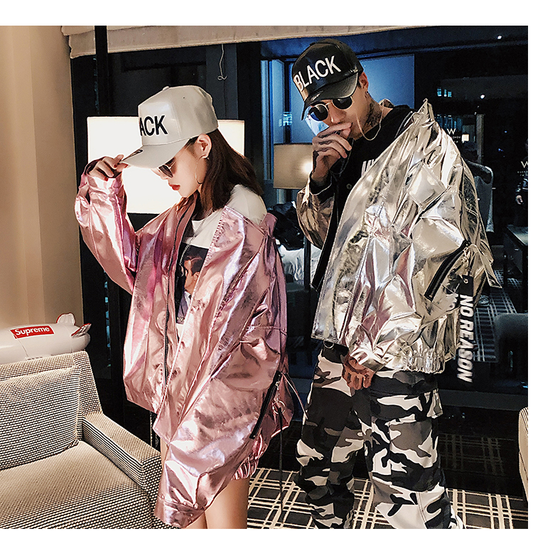 Image result for holographic hip hop fashions fall 2018