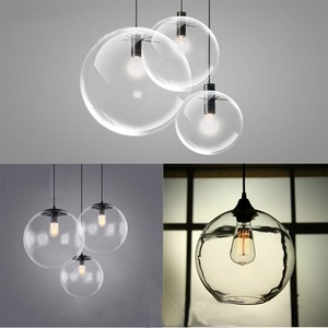 Image 4 - Bubble Pendant Light Glass Pendant Lighting Creative Decoration Fixtures for Bedroom Study Dinner Room Bar Modern Pendant light