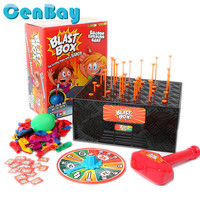 The Exciting Game With a Bang Blast Box Balloon Explosion Tricky Toys Family Game Funny Friends Prank Party Toys for Kids Gifts
