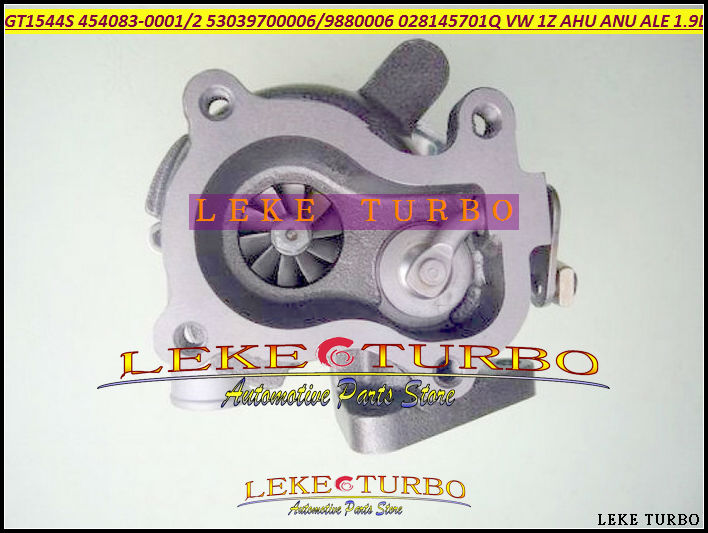 GT1544S 454083-0001 454083-0002 53039880006 53039700006 454083 028145701Q 95VW6K682AA Turbo Turbocharger For Volkswagen VW 1Z AHU ANU ALE 1.9L (2)