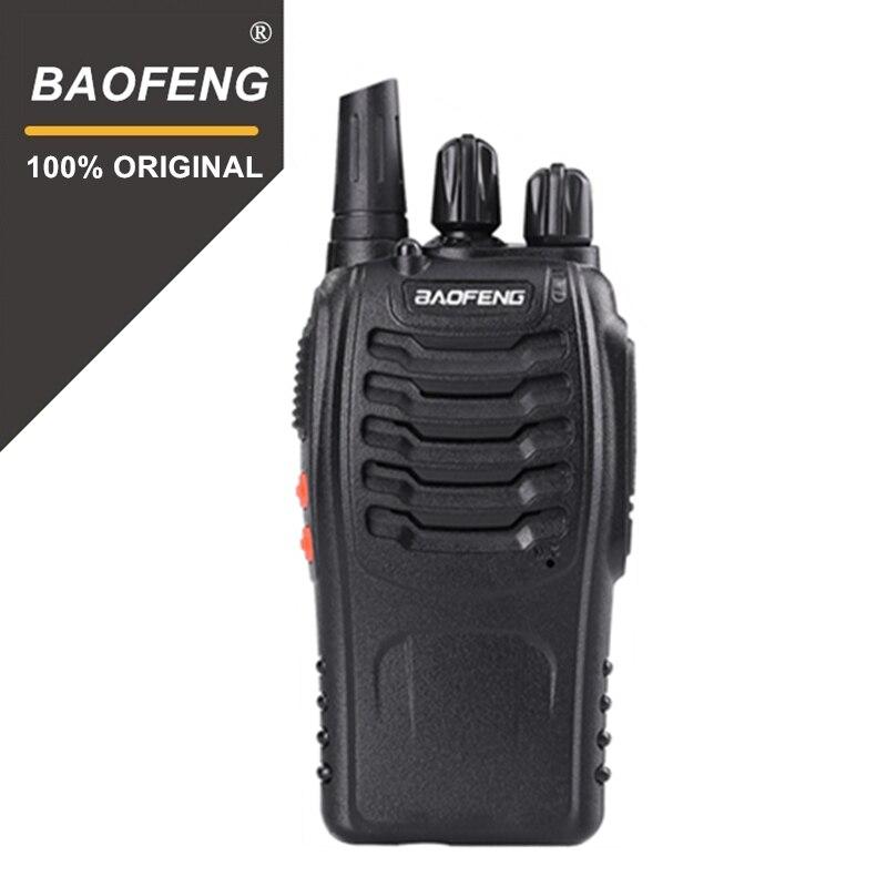 100% Originale Baofeng UHF palmare BF-888s walkie talkie 888 s 5 w 16CH Portatile walki talki 400-470 mhz a due vie radio Comunicador