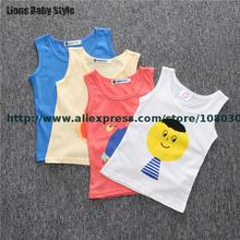 Bobo Choses High Quality Zero-5years Baby Boy Girls Clothes Summer Cotton Tank Tees Sleeveless T-shirt Vest Children Clothes