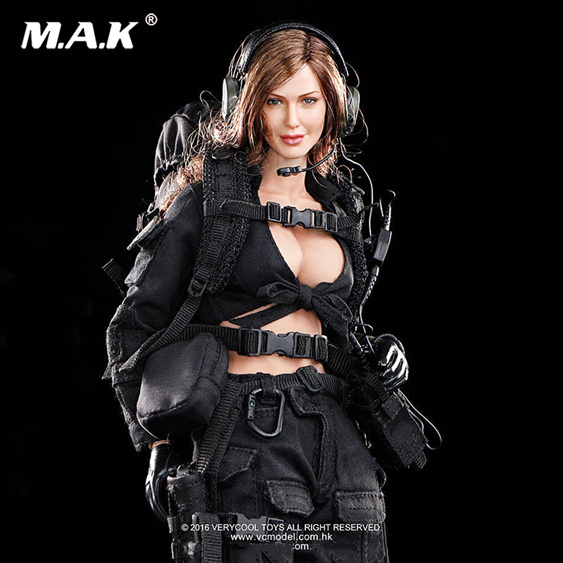 Full set Female soldier VCF-2029 1/6 Female Shooter Action Figure & Head Box-set Collection with weapons and acc For collection russian airborne vdv 1 6 female soldier action figure model set dam 78035 natalia