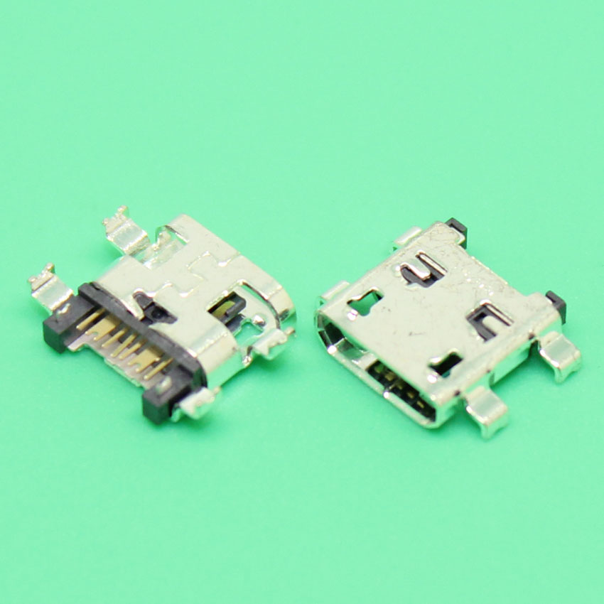 2-20pcs New Micro USB Jack Charging Socket Connector Port For Samsung Galaxy S4 mini i9190 i9195 Replacement Part 100pcs 10pcs each for 10 kind micro usb 5pin jack tail socket micro usb connector port sockect for samsung lenovo huawei zte htc