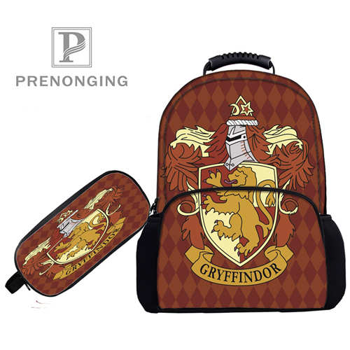 Custom 17inch Harry_potter  Backpacks Pen Bags 3D Printing School Women Men Travel Bags Boys Girls Book Computers Bag#1031-4-50