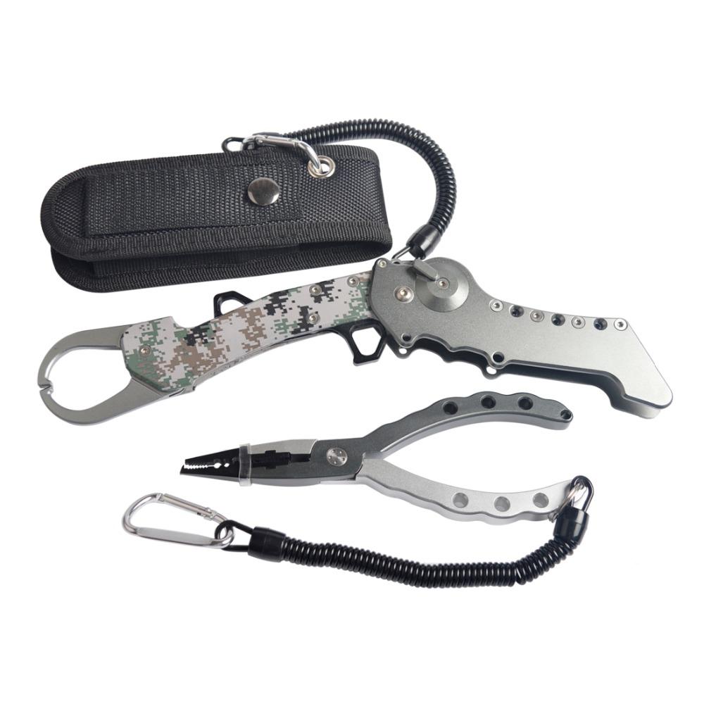 New design  Aluminium  Fishing Lip Grips With Multifunction Fishing Pliers Fishing Tackle Tool For Fishing|grip grip|grip fishing|grip tools - title=