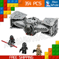 354pcs Bela 10373 Star Wars The Force Awakens TIE Advanced Prototype Building Blocks Toys Gifts Compatible With Lego