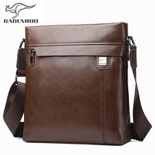 Badenroo New Arrival Male bag Fashion Business Leather Men Messenger Bag Small Crossbody Shoulder Bag Casual Man Bag Bolsas Male все цены