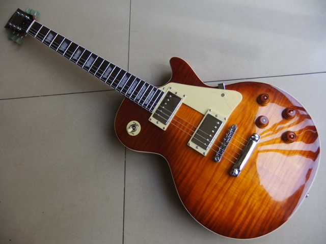 New Cnbald G 1959 Electric Guitar honey Burst  R9 Chino Estilo Guitarra Sunburst 110325 new arrival historic 1959 lp reissue aged vintage cherry sunburst guitar g electric guitar 110126