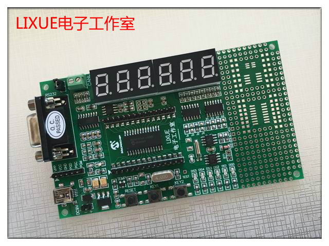 цена на PIC18F25K80/26K80 Microcontroller CAN Learning Board Development Board Evaluation Board