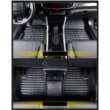 lsrtw2017 leather car floor mat for honda accord 2007 2008 2009 2010 2011 2012 2013 2014 2015 2016 2017 2018 2019 2020 carpet
