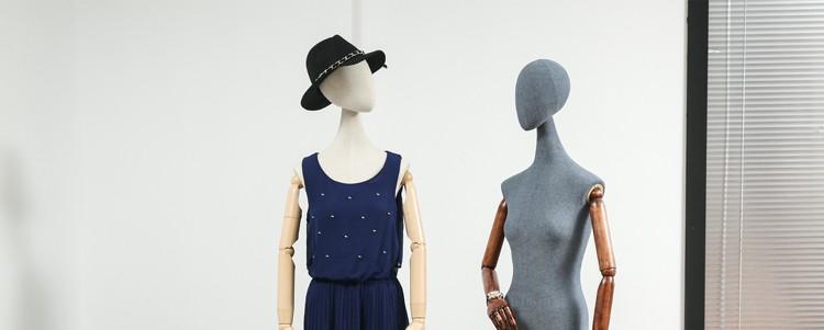 Clothes mannequins female half body mannequin cloth belt female wedding dress mannequin women\'s fabric mannequin