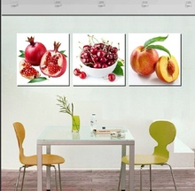 3 Panel Canvas Painting Wall Pictures For Living Room Modular Paintings  Decoracion Oil Fruit Picture