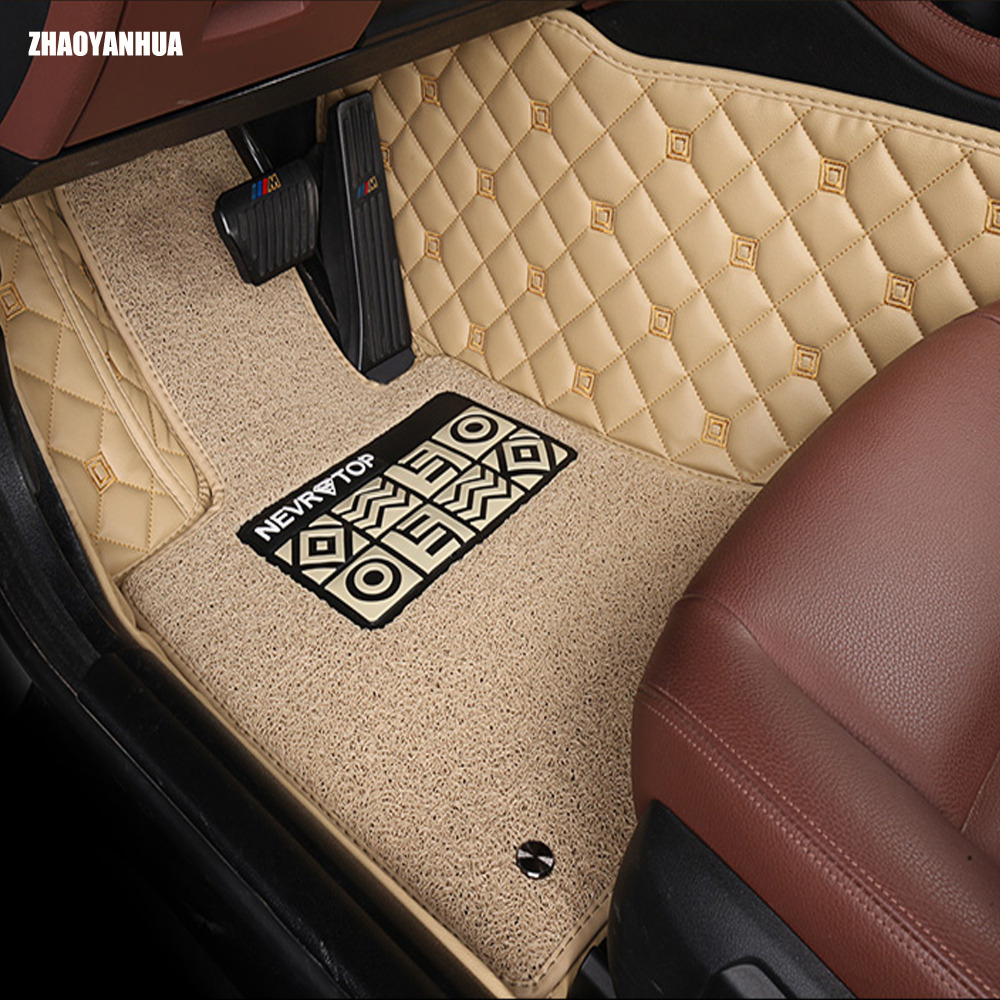 Special car floor mats for nissan murano rouge x trail altima teana qashgai sentra car styling carpet rugs full cover liners