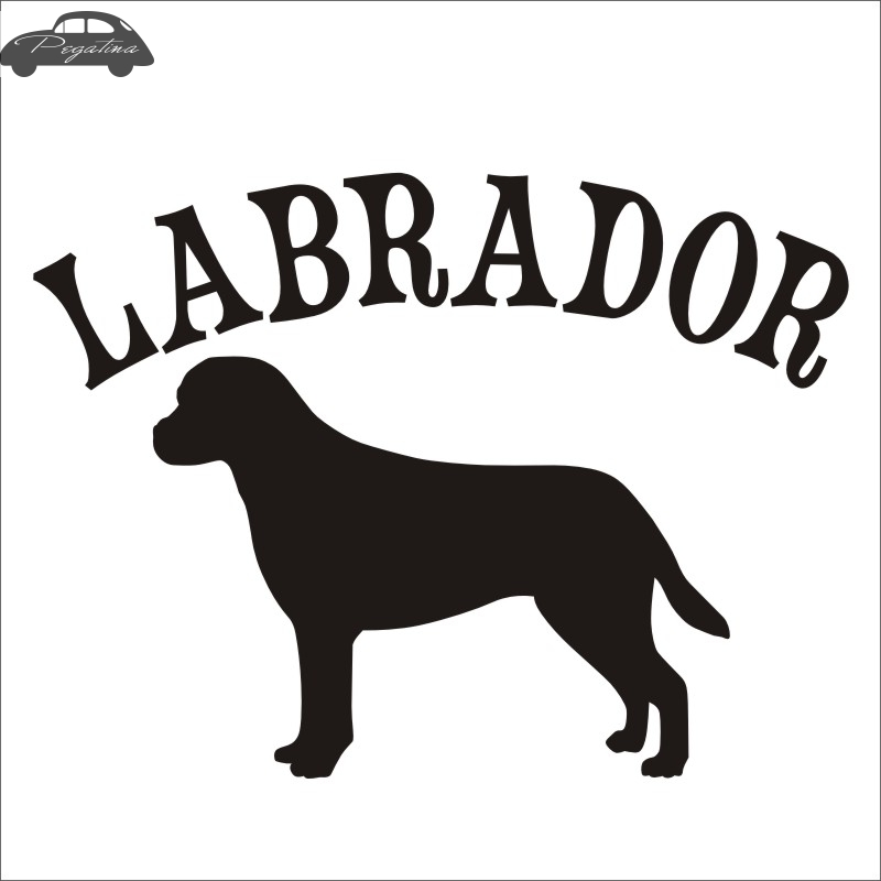 Car LABRADOR Car Pet Shop Sticker Dog Decal Labrador Posters Vinyl Wall Art Decals Pegatina  Decor Mural Pet Shop Sticker