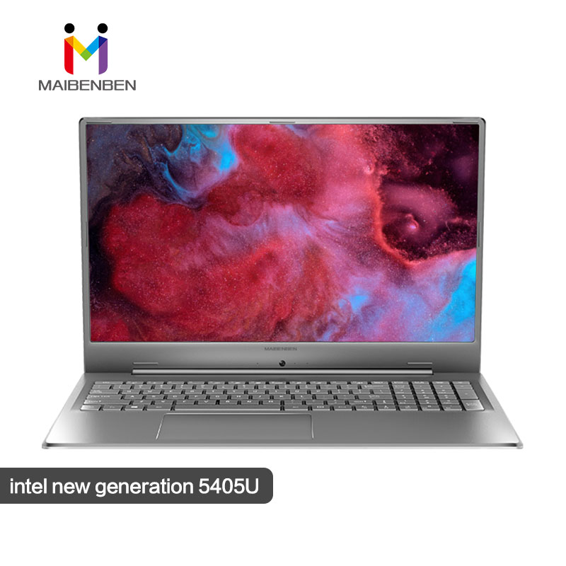 "MaiBenBen XiaoMai 6 Plus 17.3"" Intel Pentium 5405U/NVIDIA MX250 Graphics Card/Silver Super Screen Fashion Notebook Game Laptop"