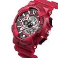 Top Brand Hombres Deportes Relojes LED Digital Reloj de La Manera Impermeable Al Aire Libre Militar de Los Hombres Relojes de Pulsera Relogios masculinos 2016