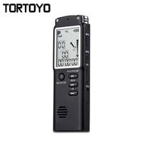 T60 8GB Digital Voice Recording Pen Noise Reduction Digital Voice Recorder Dictaphone Professional Recorder Built In