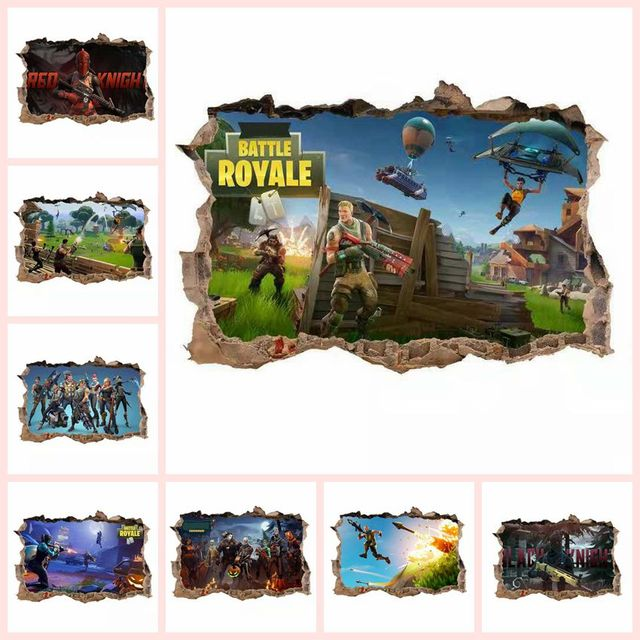 Fortnight The fortress night Action figure Around the game toys sticker wall toys dormitory Room Family decoration