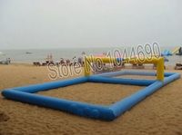 12*6 м надувные волейбольная площадка для пляжа водные игры