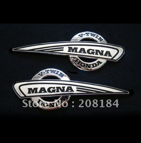Magna250 Magna750  Motorcycle Gas Tank Emblem Badge Decals Stickers