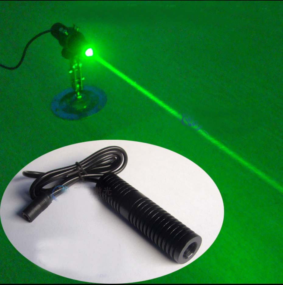80mW 532nm green laser module Dot beam DC2.8-3.7V Diameter 22mm x length 90mm [randomtext category=
