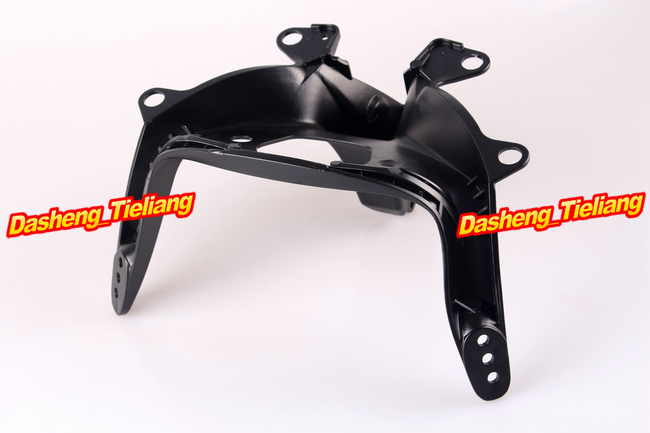 Motorcycle Upper Stay Fairing Bracket For Yamaha YZF R6 2003 2004 2005 Black front upper fairing cowling headlight headlamp stay bracket for yamaha yzf r6 2003 2004 2005