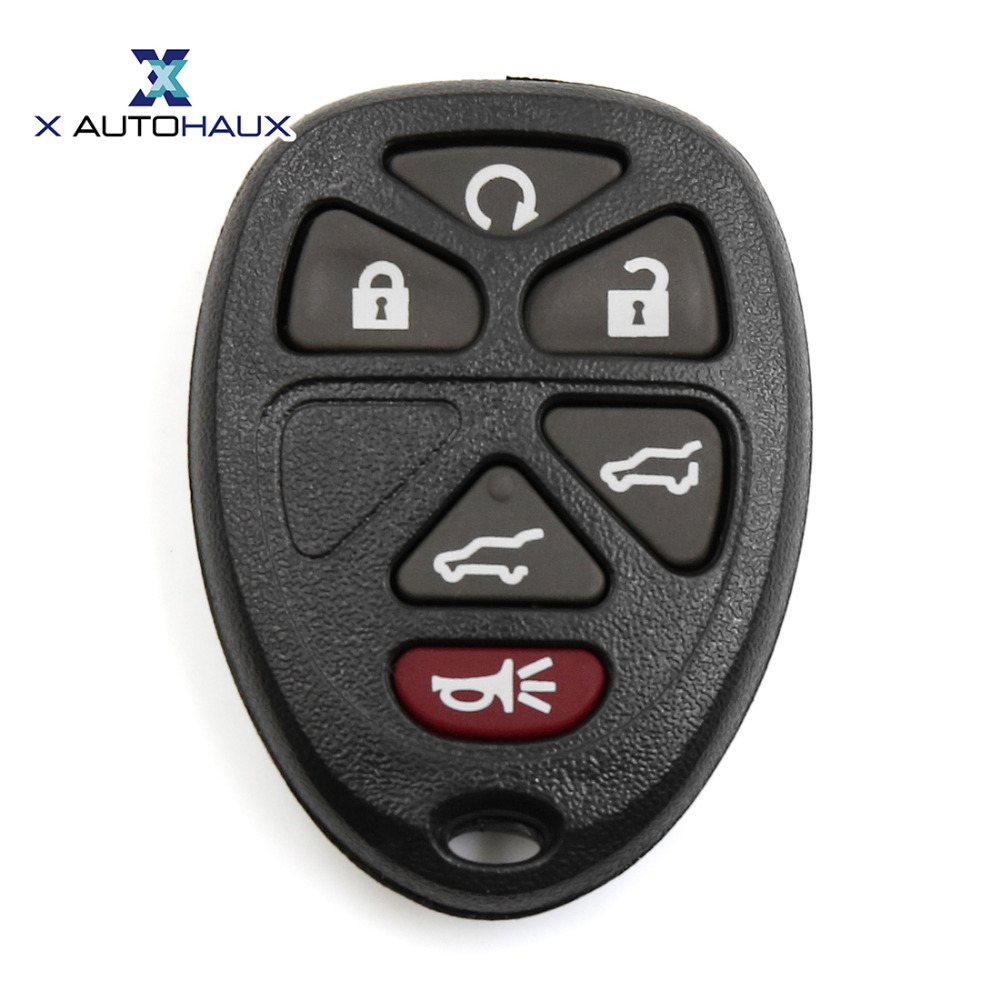X AUTOHAUX OUC60270 Key Fob Remote Shell Replacement for Chevrolet Suburban Tahoe Traverse for GMC Yukon For Cadillac Escalade