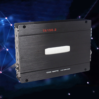 Large Power Two Channel Car Amplifier Subwoofer Auto Sound 12V Subwoofer Power Amplifier Super Compatible